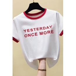 时尚house实拍631#好质量现货2020年新款短袖t恤女